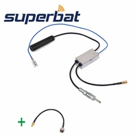 FM AM To DAB DAB FM AM Car Radio Aerial Antenna Amplifier Converter Splitter F Connector