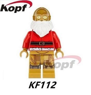 KF112 20Pcs Super Heroes Marvel C3PO Figures Star Wars Bricks Building Blocks Education Toys Christmas Gift For Children