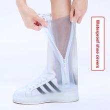 High Waterproof Rainproof Shoes Thick Rain Boots Sets Male and Female Students Rain Children Slip Wear Rain Boots Rain Artifact