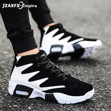 Men Brand Outdoor Basket Shoes For Man Breathable Walking Shoes Men's Comfortable Sport Shoes homme baloncesto High top Sneaker 2017 lovers casual shoes lace up sport basket for men high top shoes breathable walking man superstar trainers zapato red grey