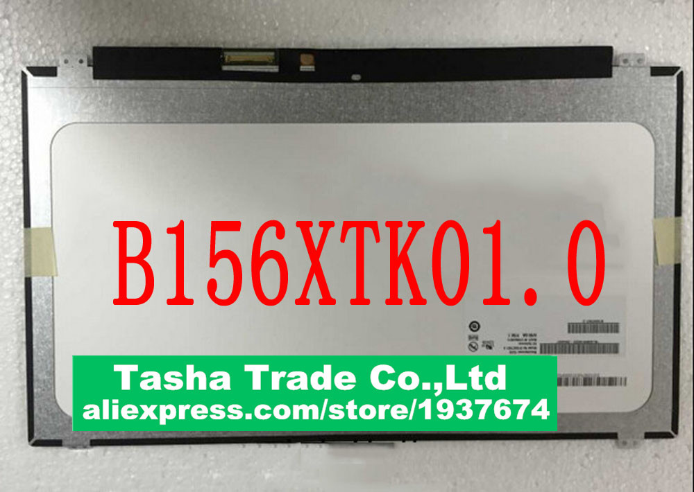 B156XTK01.0 15.6 HD Touch LED Display  LCD SCREEN 1366*768 HD with Touch Digitizer original new laptop led lcd screen panel touch display matrix for hp 813961 001 15 6 inch hd b156xtk01 v 0 b156xtk01 0 1366 768