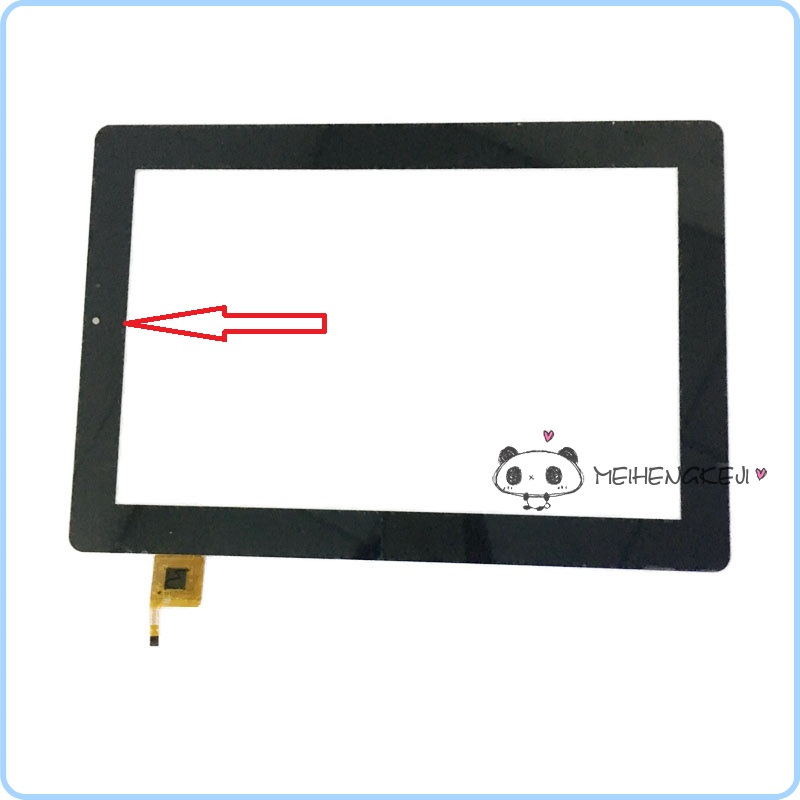NEW 10.1 inch Touch Screen Digitizer Glass Panel replacement For SPC Smartee Winbook 10.1 9700116ES 9700132ES