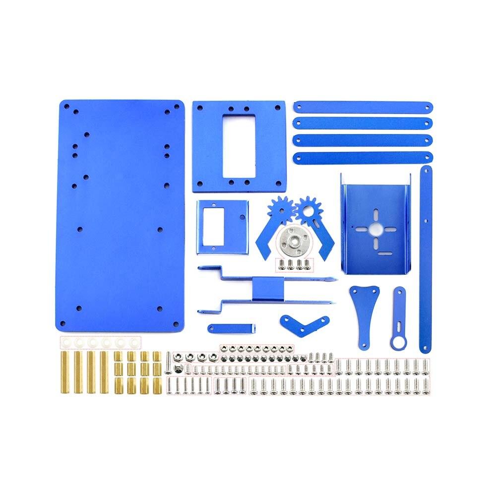Waveshare 4-DOF Metal Robot Arm Kit for Raspberry Pi, Bluetooth / WiFi  Remote Control