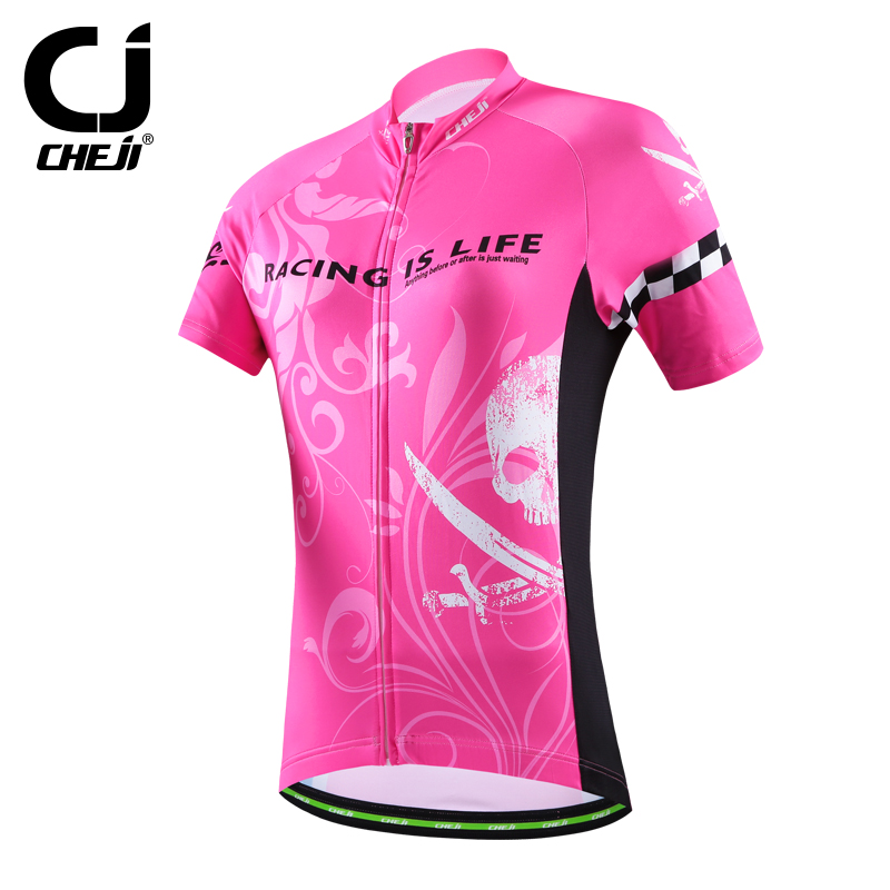 2016 Cheji Women Bike Jerseys Mtb Team Cycling Clothing Ropa