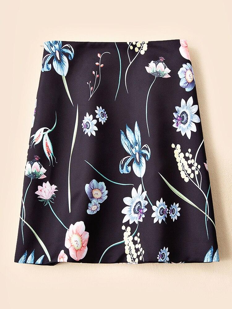 2019 Femmes Piste Design Luxe Ws03112 Partie Européenne Marque Vêtements Style Jupes De Mode wtCdIpqq