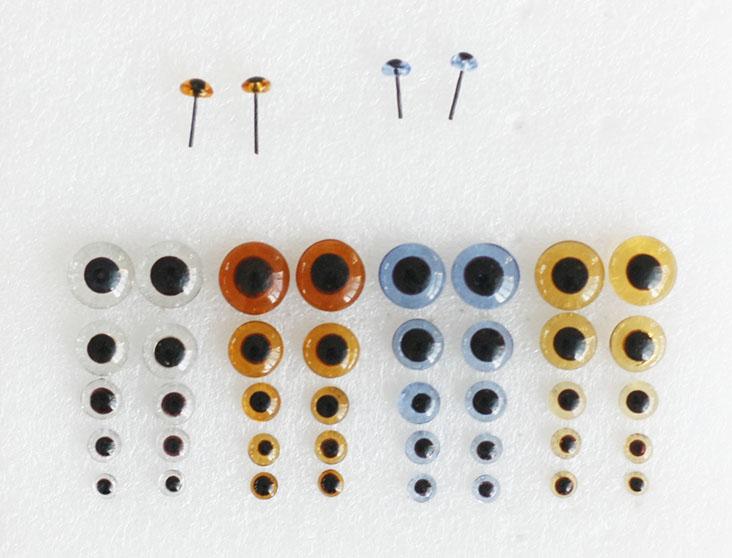 Perfect Eyes For Amigurumi [FREE Crochet Tutorials]   530x681