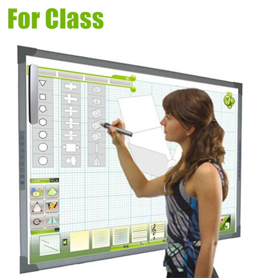 US $225 96 16% OFF|Top Quality Ultrosonic Smart Board Portable Interactive  Whiteboard for Smart creactive Class to students-in Whiteboard from Office