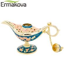 Colorful Metal Aladdin Magic Lamp Model