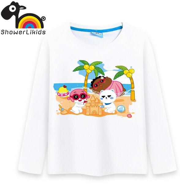 Cotton long sleeve children t shirts, cute cartoon t-shirt brother boys girls t-shirt figure kids wear Fat lazy funn L0709006