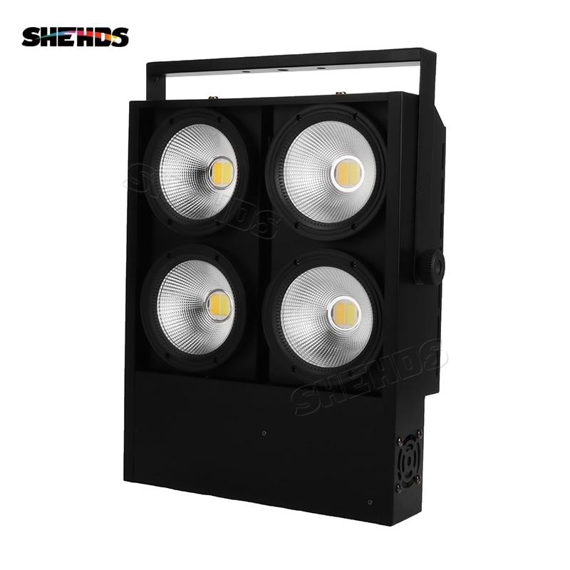 4eyes 4x100W LED COB Light DMX Stage Lighting Effect LED Blinder Light Fast Shipping