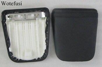 Cubierta de asiento del pasajero Wotefusi de cuero negro caliente para HONDA CBR 600 03-06 [PA141]