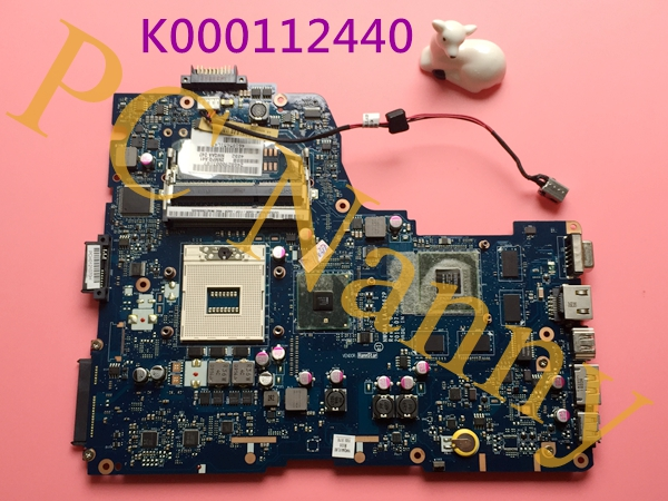 3D For Toshiba Satellite A660 A665 Intel HM55 S989 Motherboard K000112440  NWQAA LA-6062P -- tested