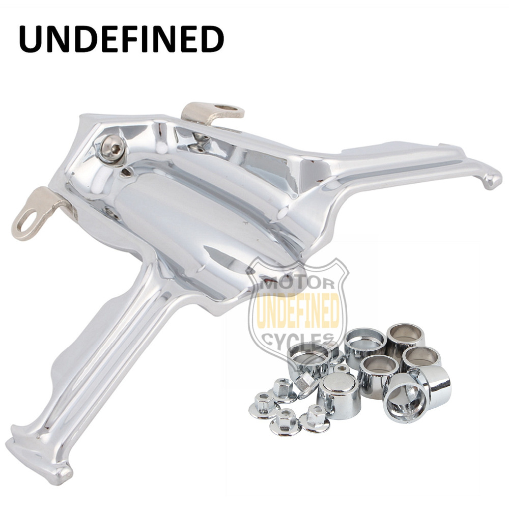 Motorcycle Parts Chrome Tappet / Lifter Block Accent Cover For Harley Street Electra Road Glide Breakout Blackline UNDEFINED