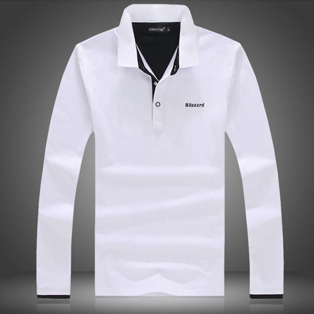 2017 nuevo polo hombres de la camisa de diseño de moda slim fit 95% Homme Camisas Adecuado Marca De Ropa Casual de algodón Gris Para Hombre Polos M-5XL