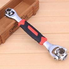 Nieuwe Universal 360 Graden 48 In 1 Gereedschap Socket Staal Tijger Wrench Met Spline Bouten Torx 6 Punt Meubels auto Reparatie Handgereedschap