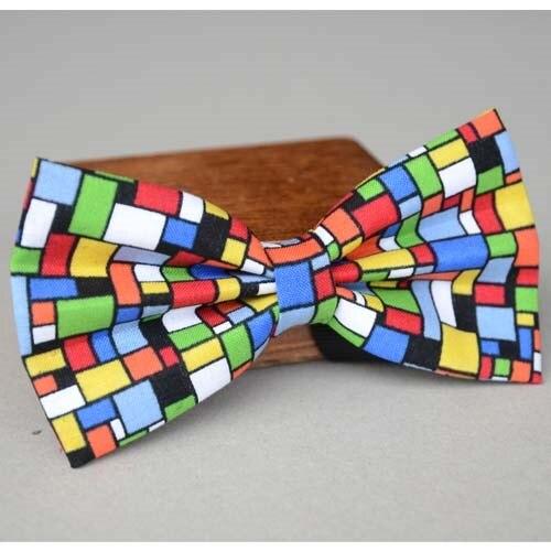 Mosaico colorato ragazzi papillon, cravatte per gli uomini, le donne  cravatte, cravatta,