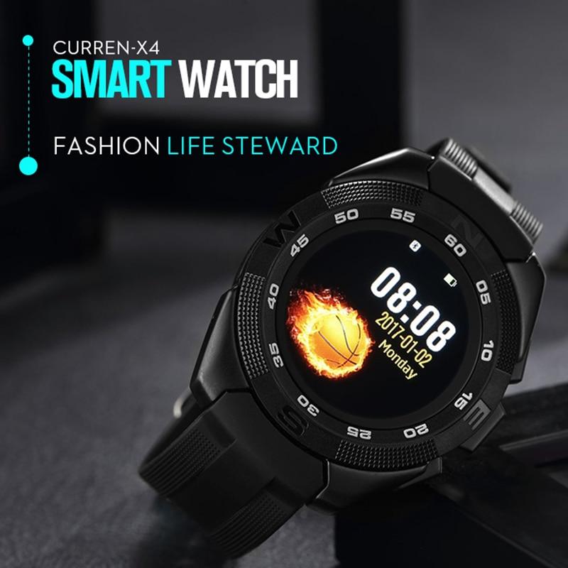 Lire montre intelligente Ultra mince mode décontracté bracelet numérique moniteur de fréquence cardiaque podomètre sport Bluetooth montre intelligente hommes