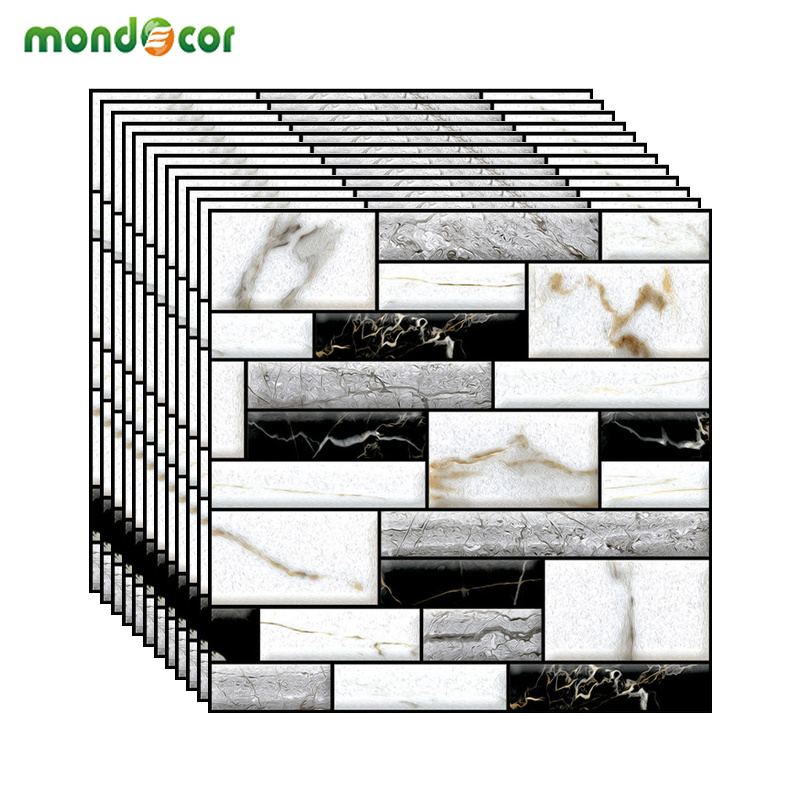 DIY Self Adhesive 3D Brick Wallpaper Removable Stickers PVC Waterproof Wall Covering Panels Living Room Kids Room Home Decor