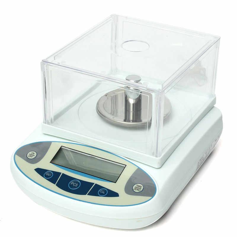 100x0.001g 1mg الرقمية مختبر التوازن التحليلي مقياس الدقة الإلكترونية وصول جديدة عالية الجودة مقياس الوزن