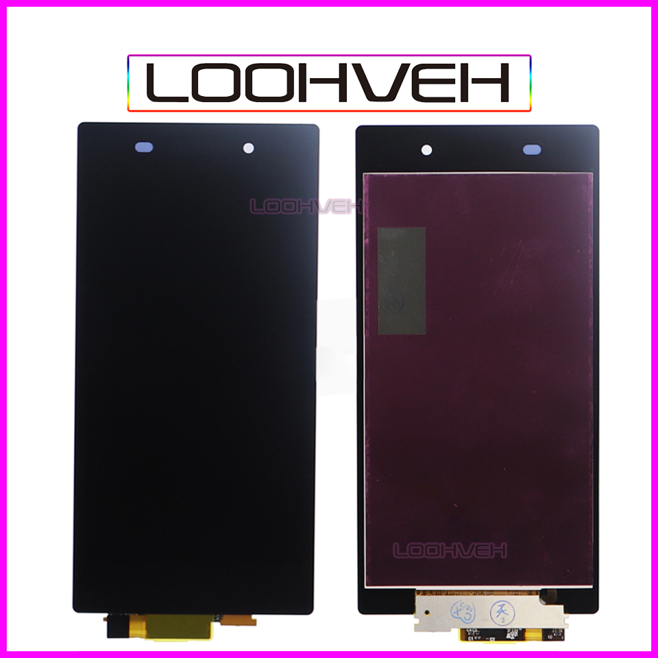 For SONY Xperia Z1 Assembly Full LCD Display Touch Screen Digitizer Replacement C6903 L39H