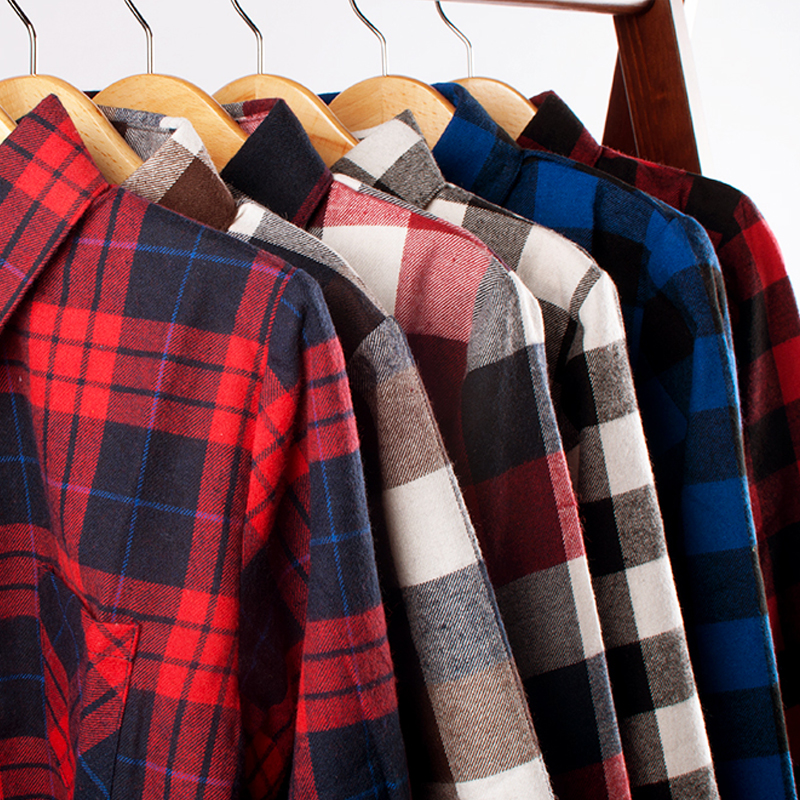 VIDMID Boys   Shirts   Classic Casual Plaid Children   shirts   For 2-12 Years Kids big Boy Wear jacket girls   blouse   teenage 6010 01