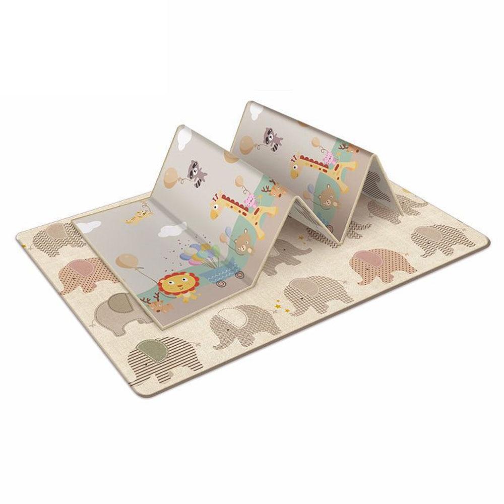 Tapis de jeu bébé Xpe Puzzle tapis pour enfants épaissi Tapete Infantil bébé chambre ramper Pad tapis pliant tapis bébé - 3