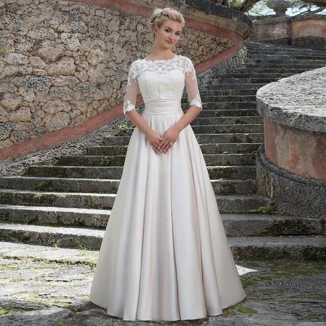 2016 New Arrival With Detachable Lace Jacket Wedding Dress Applique
