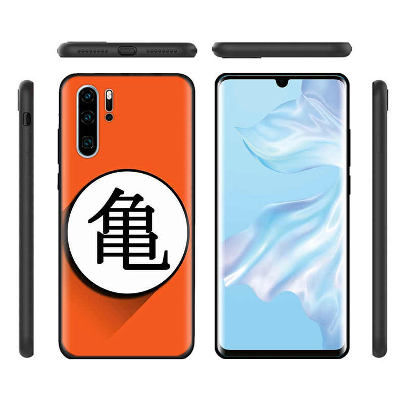 El negro de silicona funda para Huawei P30 P20 P10 amigo 20 10 Lite Pro Nova 4 4E 3E P Smart 2019 Plus DBZ de la bola del dragón del celular