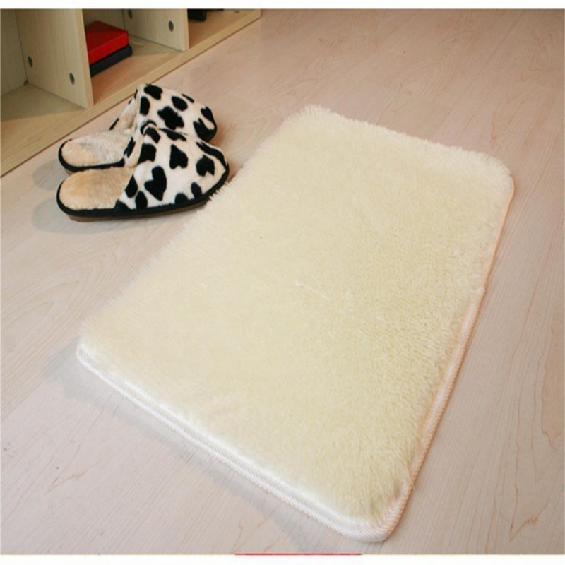 High Quality Super Comfortable Shaggy Fluffy Rugs Anti Skid Area Rug Dining Room Carpet Home