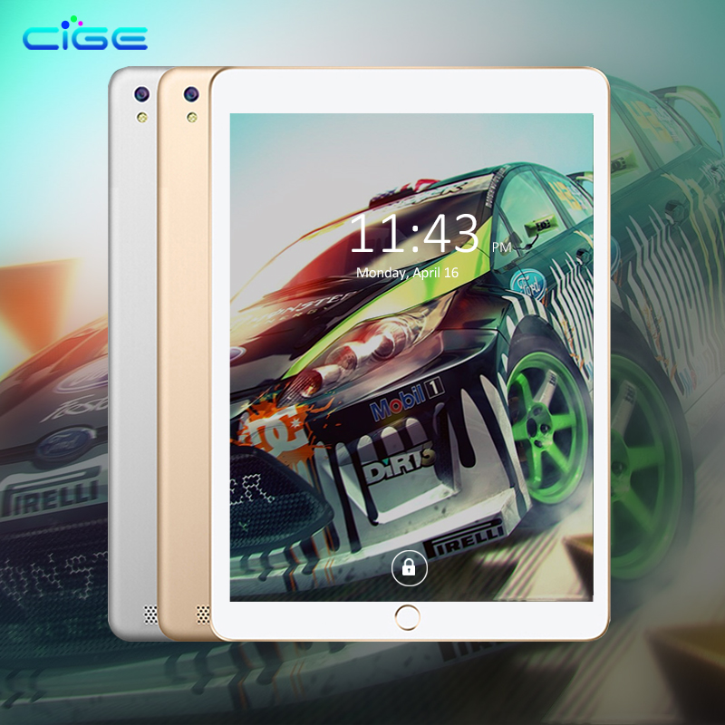 CIGE 10.1' Tablet PC WIFI 8 Octa Core 4G RAM 64GB ROM Dual Camera 8MP Android 7.0 10 Tablets 3G 1280X800 GPS Phone C MT8752