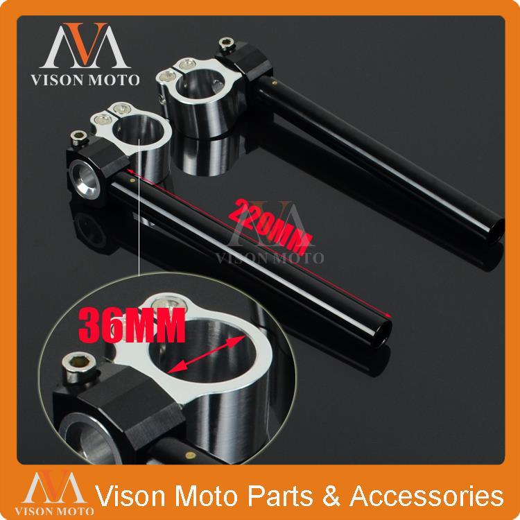 36MM handlebars Clipons Clip On For Yamaha XV500 XV535 XJ550 FJ600 FZ600 SRX600 YZ600 XJ650 XJ750 XS750 XV750 XS850 XV920