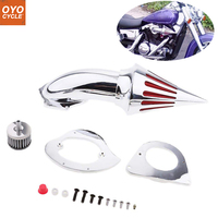 For 95 12 Kawasaki Vulcan 800 VN800A Classiic Spike Cone Motorcycle Air Cleaner Intake Filters Kit Accessories 1995 1996 2012