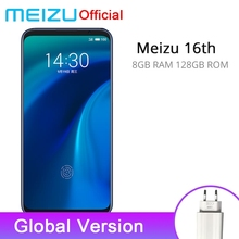 Official Global Version Meizu 16th 16 th 8GB 128GB Snapdragon 845 Octa Core 6.0 inch 2160x1080P 3010mAh Battery Dual Rear Camera(China)