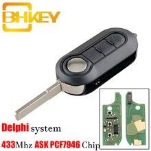 Автомобильный ключ bhkey с дистанционным управлением 3 кнопки
