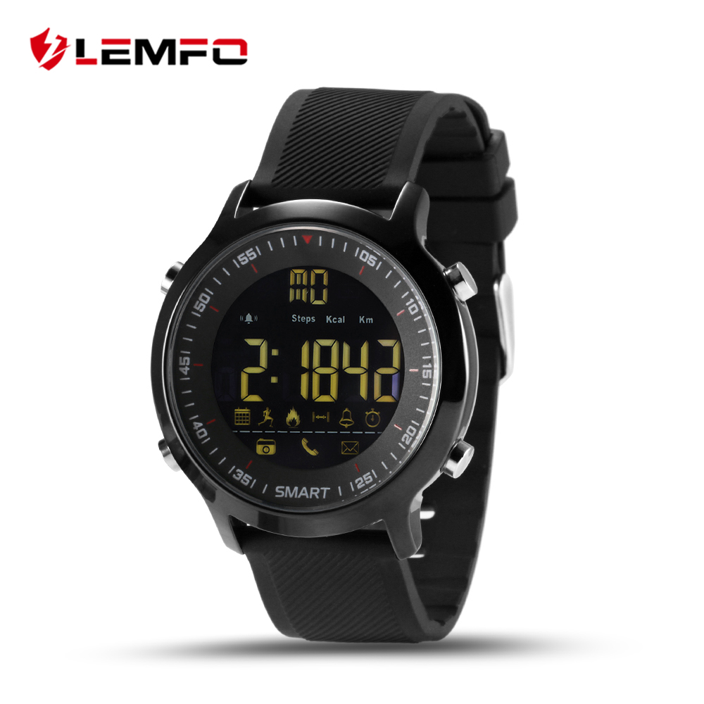 EX18 Waterproof Wrist Smart Watch Support Call and SMS alert Sports Activities Tracker Bluetooth Wristwatch