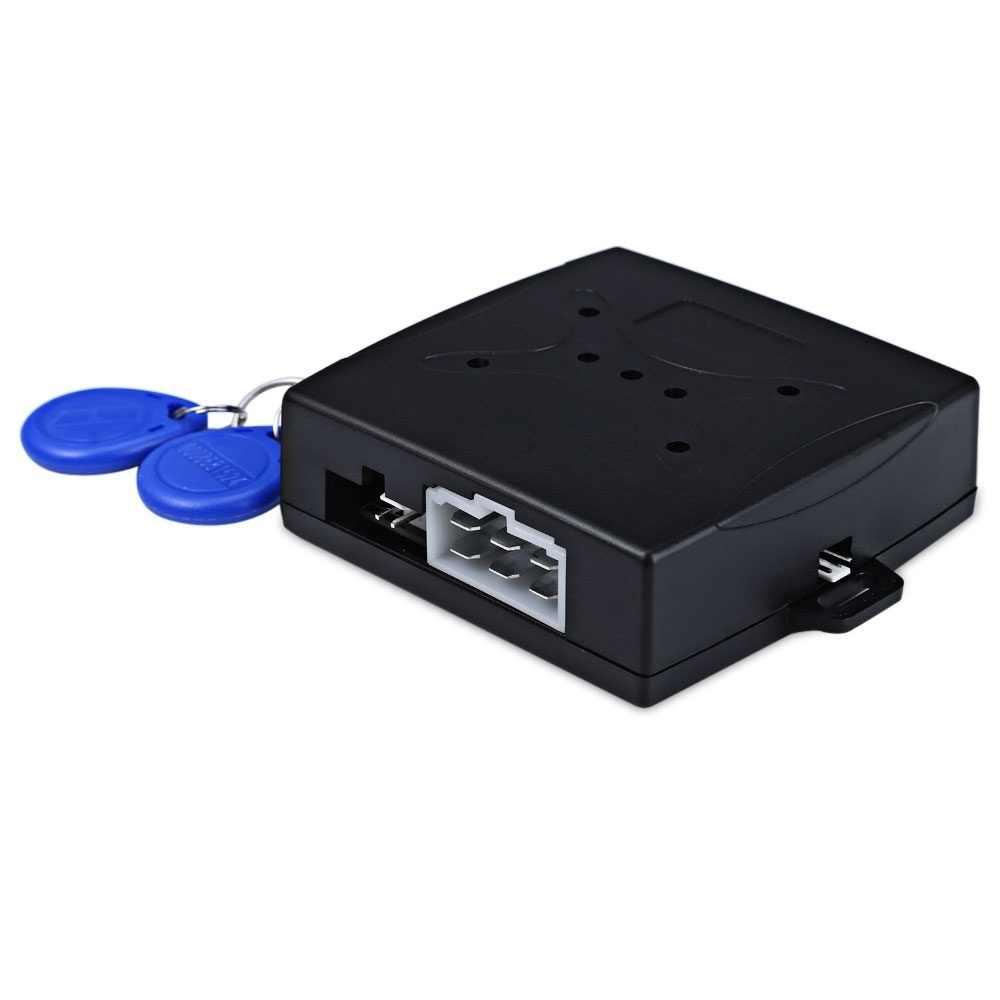 Alarme de voiture moteur bouton poussoir démarrage bouton d'arrêt RFID serrure interrupteur d'allumage système d'entrée sans clé démarreur système antivol