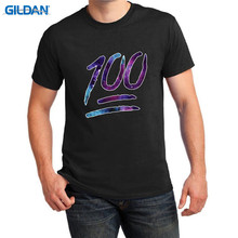 Retro 100% Cotton Prin T Shirt Tee Hot Sale Fashion Crew Neck Novelty Keep It Hundred  Short Sleeve Mens Tees