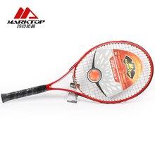 Marktop теннисные ракетки из углеродного волокна, тренировочная ракетка из алюминиевого сплава для взрослых, ракетка для тенниса, материал верха для мужчин и женщин M3221