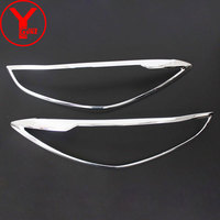 2015 2017 HEAD Light Cover For Mazda 3 2015 2016 2017 ABS Head Lamp Cover Car