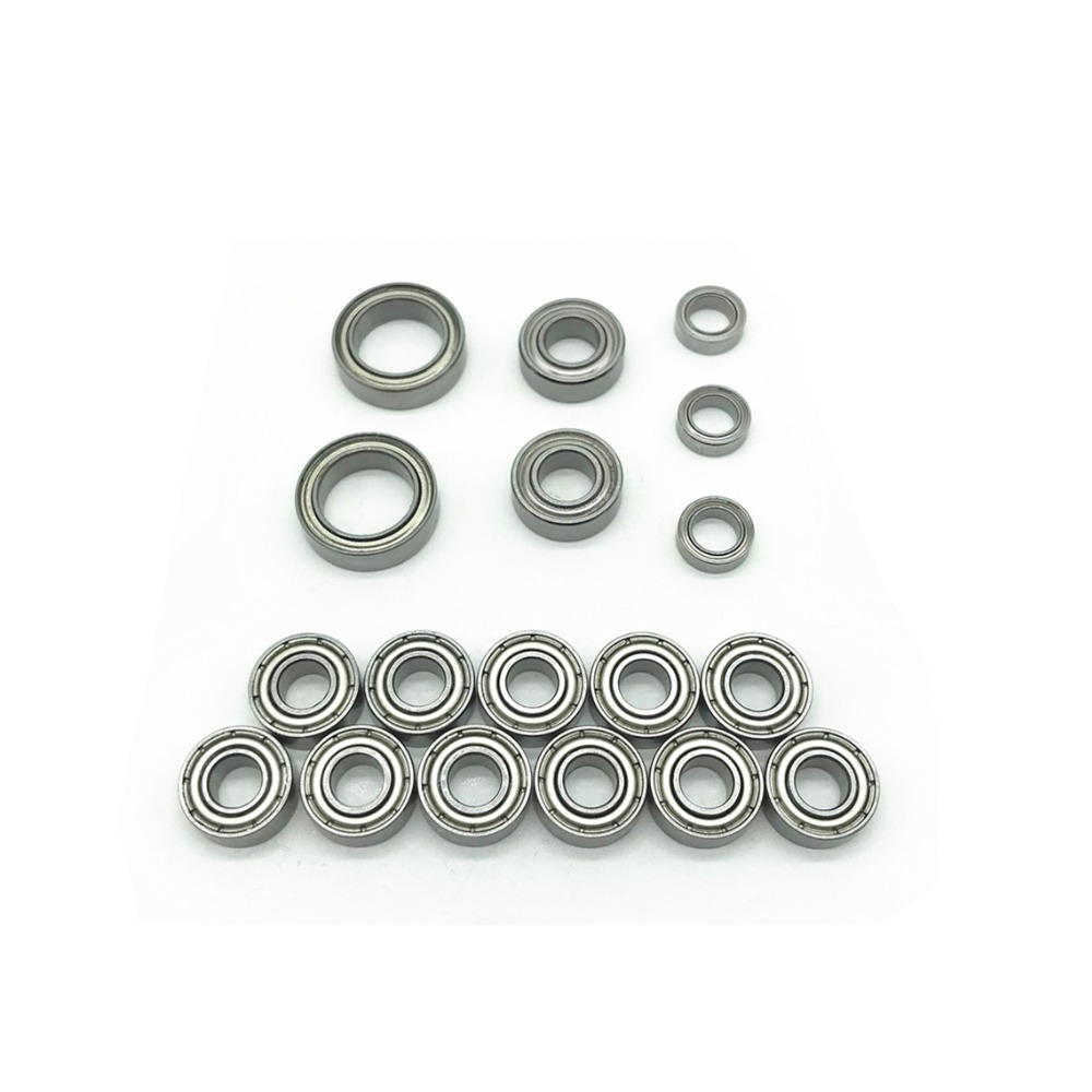 18pcs 1/10 Wrangler 84071 Pajero Upgrade Bearing Set Car Model Bearing CC01 CC-01