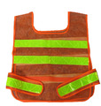 Safety clothing Fluorescent traffic Reflective vests Printing Available orange color V82916