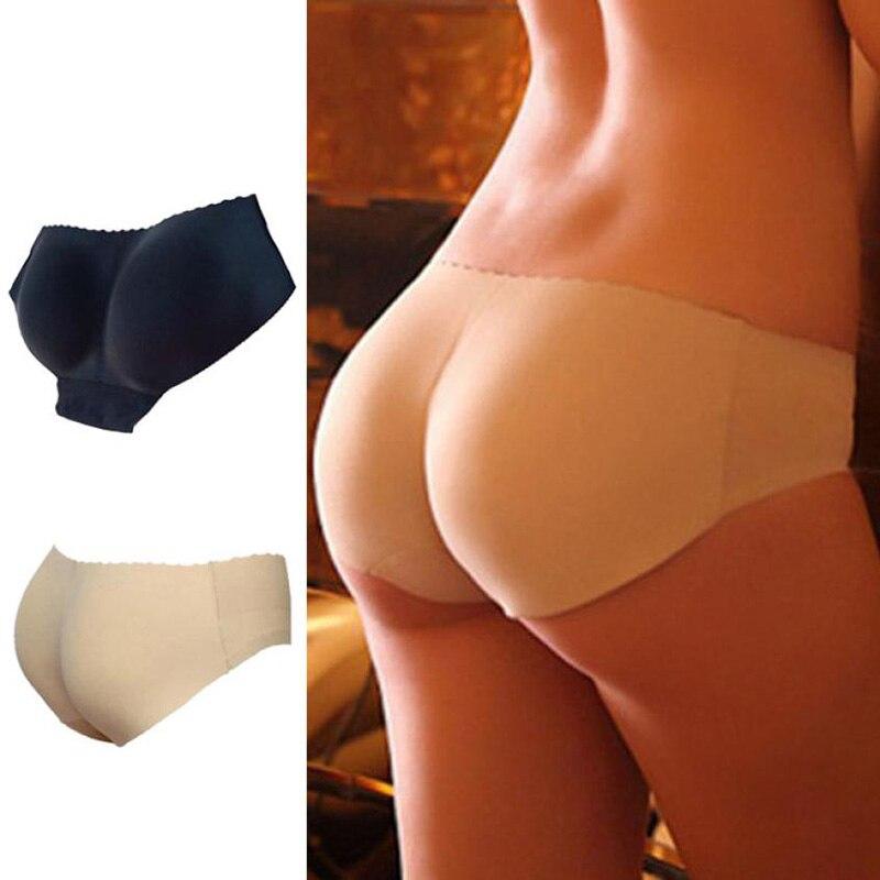Sexy gepolsterte Höschen Nahtlose untere Höschen Gesäß Push Up Dessous Damen Unterwäsche Gute Qualität Butt Lift Slips