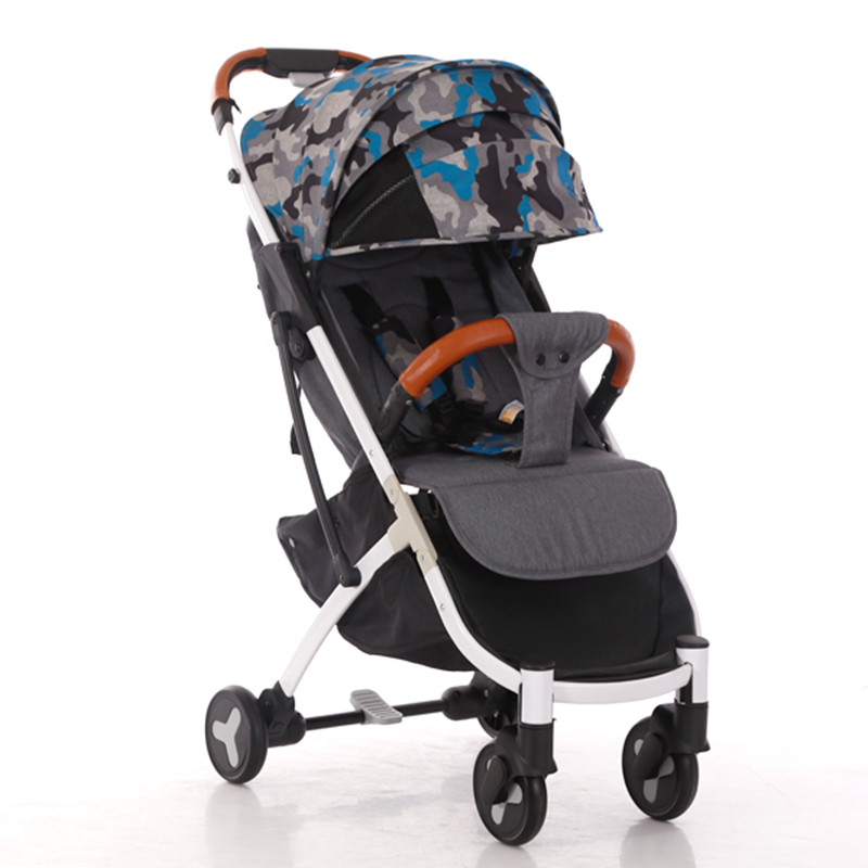 Baby stroller lightweight baby carriage can sit umbrella car can be on the airplane