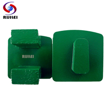 все цены на RIJILEI 24*13.0*20mm*2T Diamond Grinding disc Trapezoid Grinding Block with 2 Pin Concrete Metal Bond Grinding Segments Y20-2 онлайн