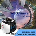 4K 360 degree camera Wifi Mini  Action Camera 2448*2448 Ultra HD Panorama 360 kamera  Degree Sport Driving VR Camera
