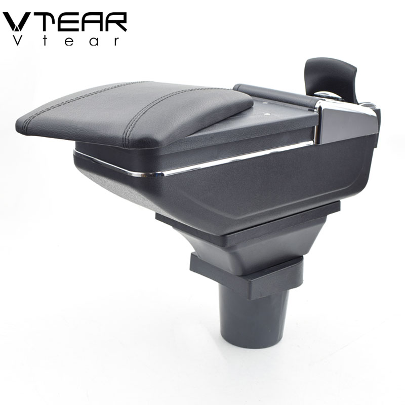 Vtear For VW UP armrest box central Store content box products interior Armrest Storage car-styling accessories parts 2009-2018 armrest boxes the central content box armrest box store content box for toyota rav4 2014 toyota rav4 2015