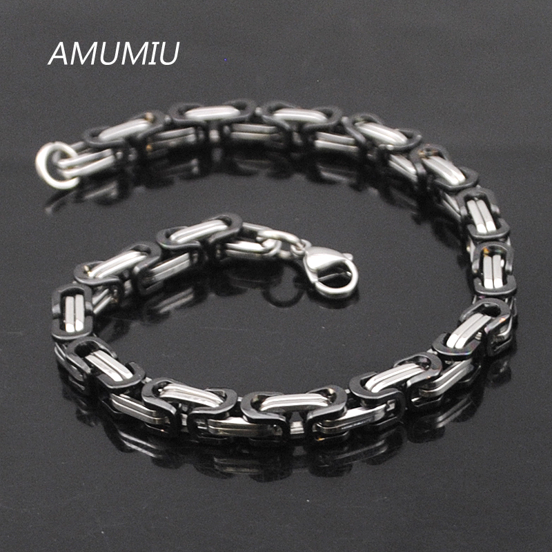Προώθηση AMUMIU! Ανδρικά βραχιόλια χρυσό - Κοσμήματα μόδας - Φωτογραφία 3