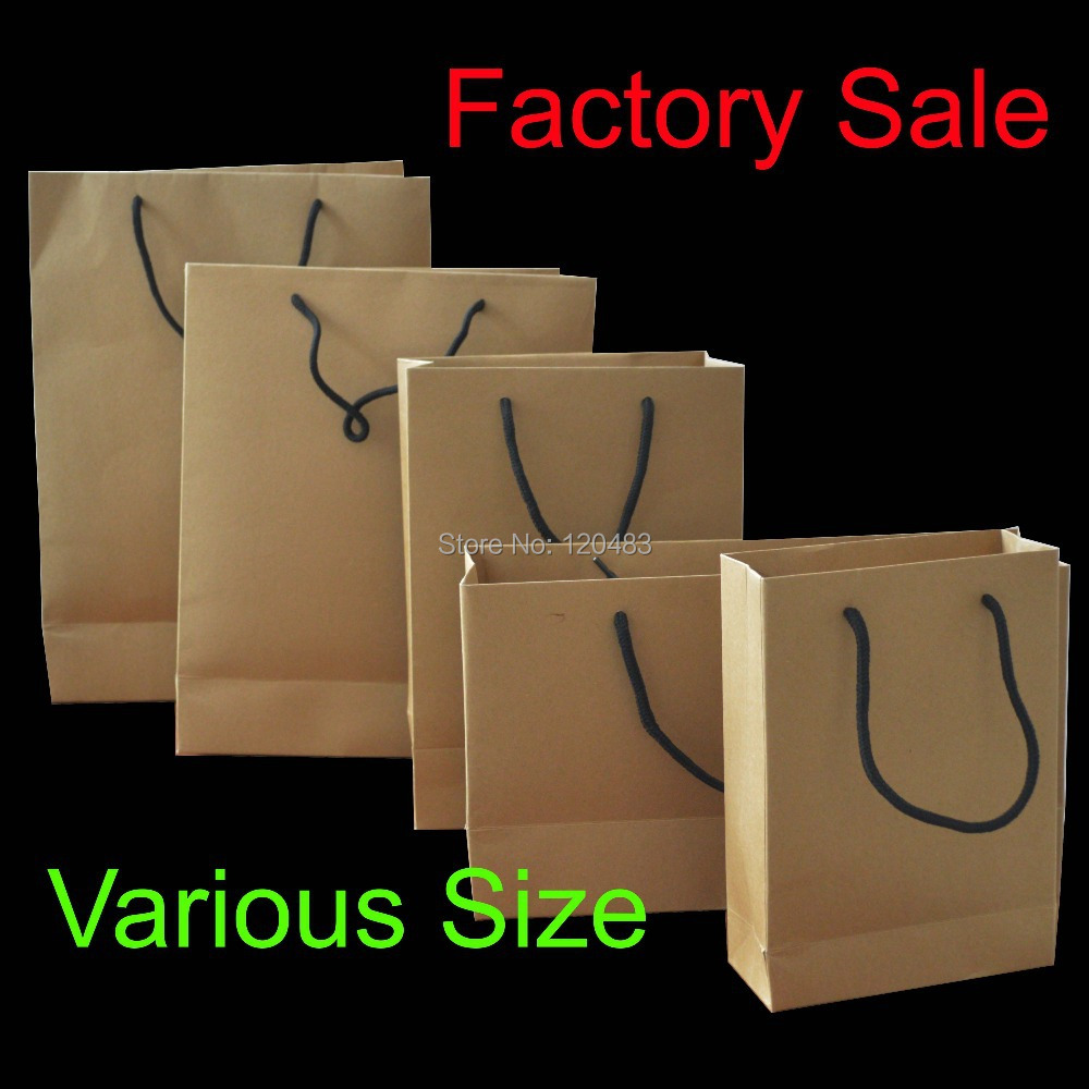 pcs brown self zip lock kraft paper bags with window for