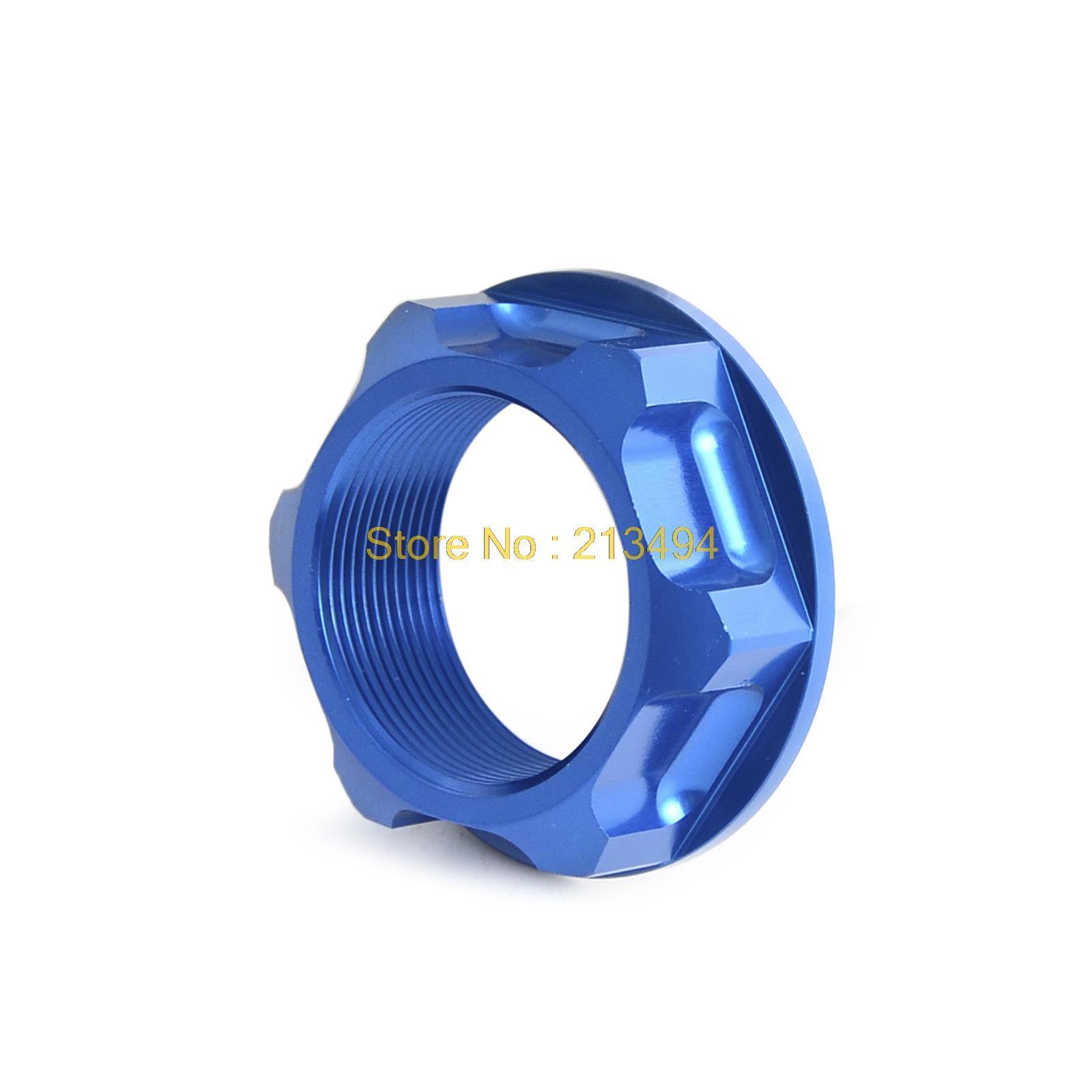 NICECNC анодированный алюминий заготовки рулевого стержня Гайка для YAMAHA YZ125/250 YZ400/426F WR250F 450F Сузуки RM125/250 RMZ250 450