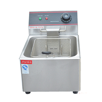 Commercial FY 6L Stainless Steel Fryer Fries Fries Fried Chicken Frying Pan Machine